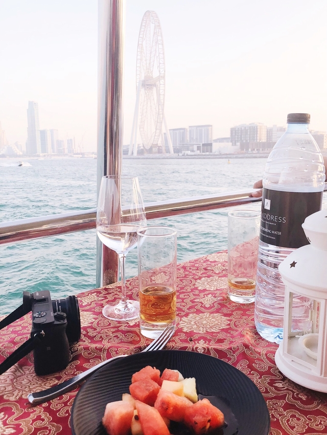 Xclusive Cruise Dinner Dubai Marina Review Blog 01