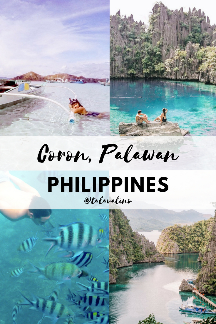 Coron Palawan Philippines Travel Pinterest