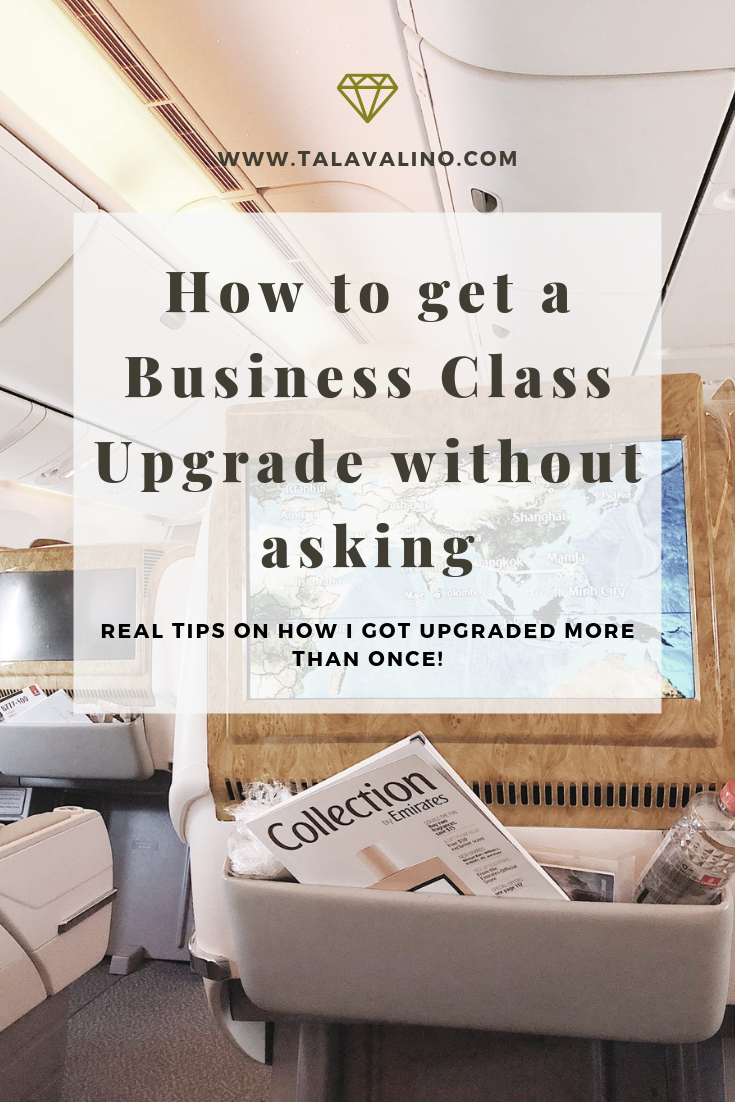 how to get a business class upgrade 2019