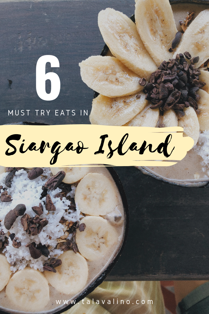 healthy smoothie bowls by Shaka Cafe in Siargao