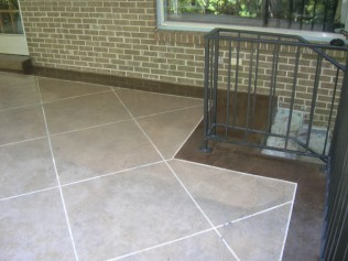 STAMPED CONCRETE PATIO MONTGOMERY AL