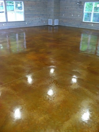 stained concrete auburn alabama