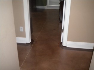 stained concrete hoover al
