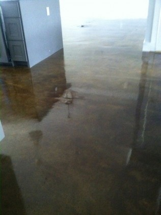 stained concrete montgomery alabama sealed