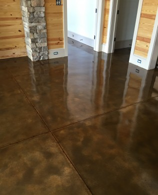 stained concrete montgomery alabama