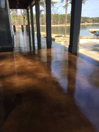 stained concrete pike road al