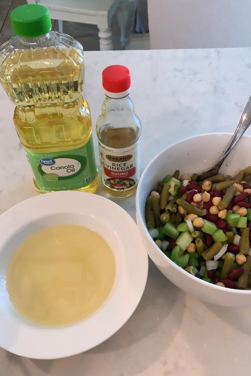Back to School Bean Salad ft. Walmart Grocery items!