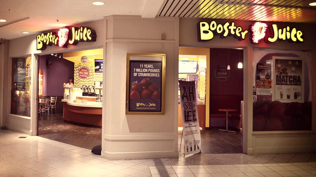 Booster Juice Storefront