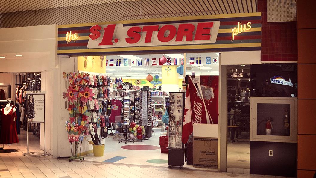 Dollar Store Plus Storefront