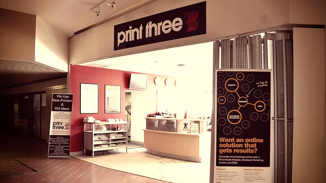 Print Three Storefront