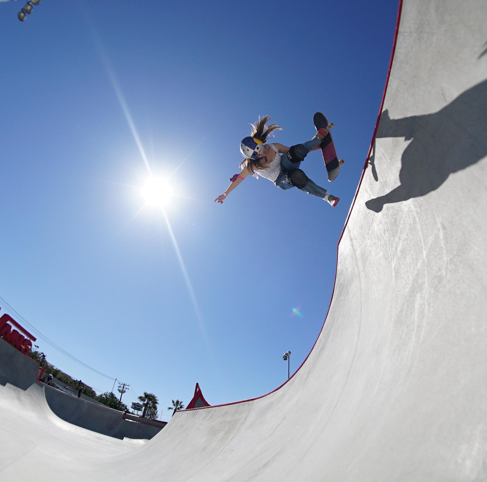 Brighton Zeuner USA Skateboarding