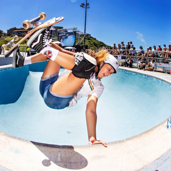 Jordyn Barratt USA Skateboarding