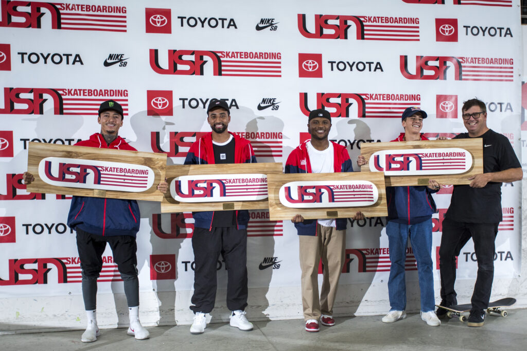 2020 USA Skateboarding Men's Street National Team