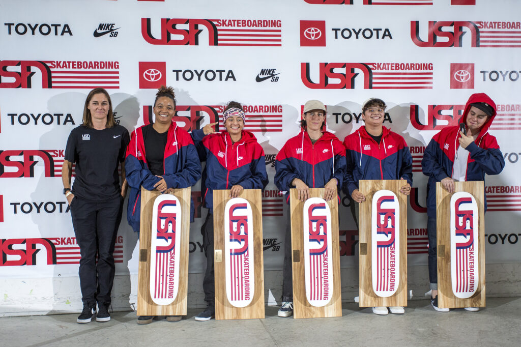 2020 USA Skateboarding Women's Street National Team