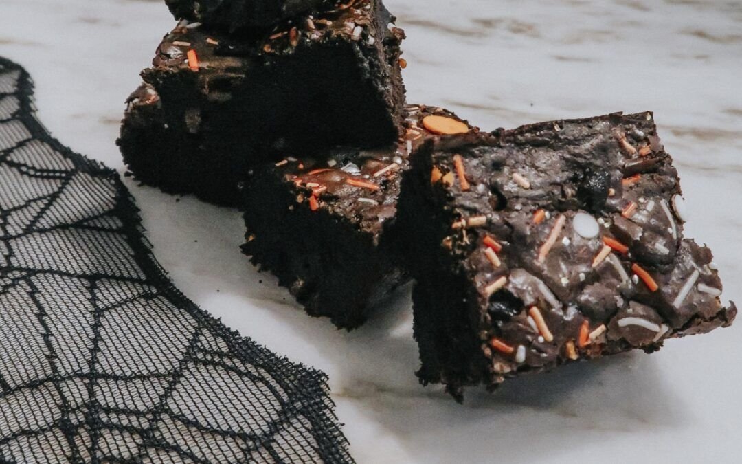 Can't Get No Satisfaction?! Try These -Black Cocoa Brownies