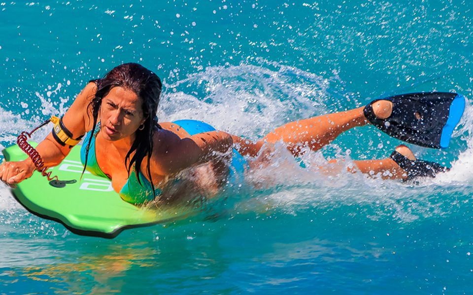 Wave Propulsion Bodyboard