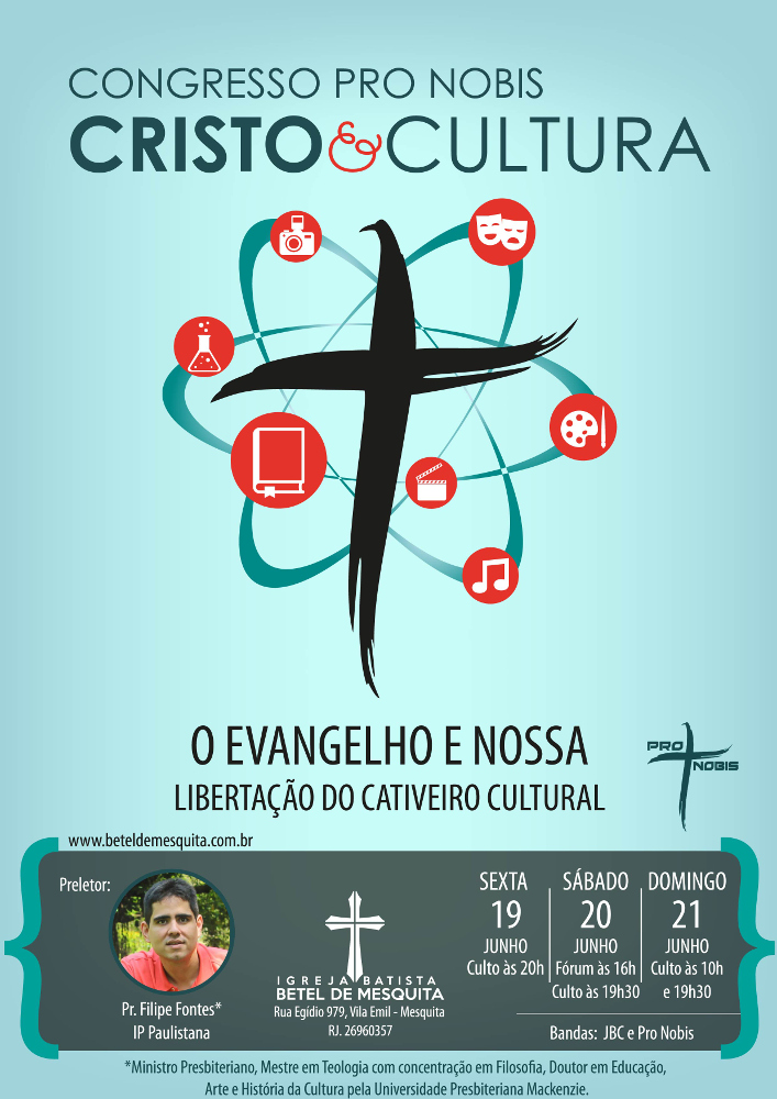 Cristo e Cultura - Cartaz