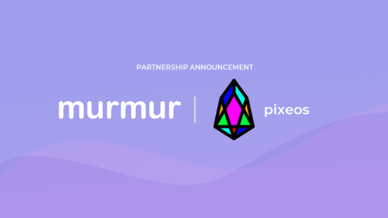 Murmur partners with pixEOS