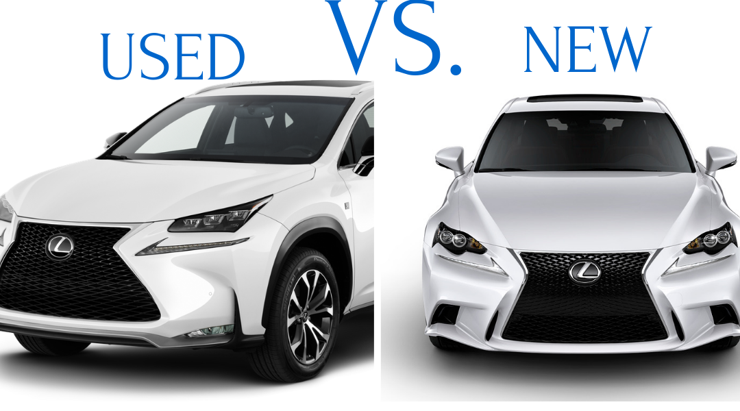 Should I buy a new vs. pre-owned Lexus or Toyota?