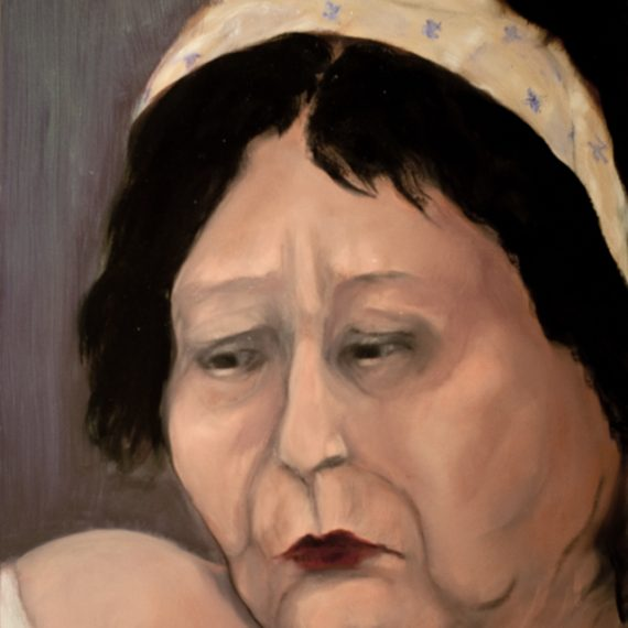 lillian-with-headband-oil-on-canvas-24-x-30-2009