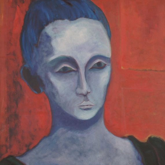 woman-with-blue-hair-oil-on-canvas-24-x-30-1986