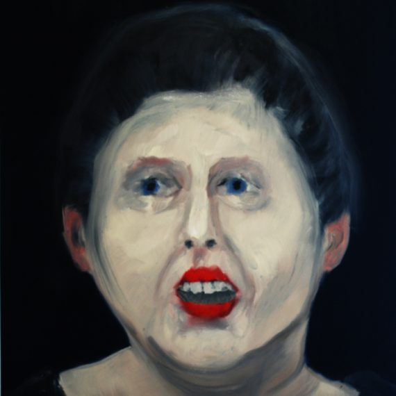 woman-with-red-lips-18-x-20-oil-on-canvas-2009