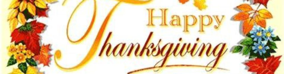 Happy Thanksgiving to you!