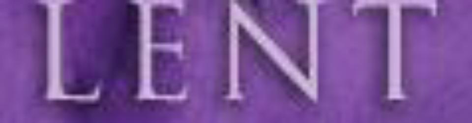Lenten badge