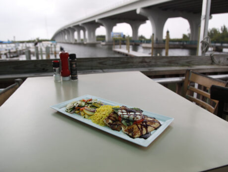 Riverside Café: A number of attractions, including the food