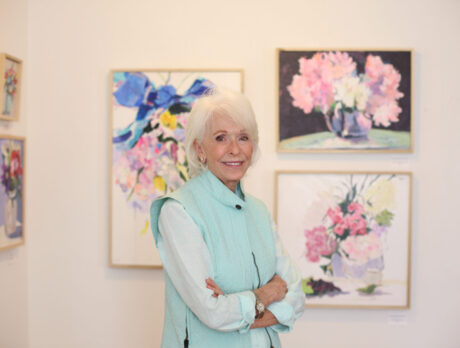 'Counting Flowers': Rowles' abstract art in full bloom