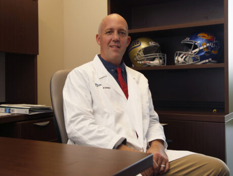 Game on: Ortho doc embraces sports medicine field