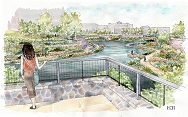 artist rendering of the park