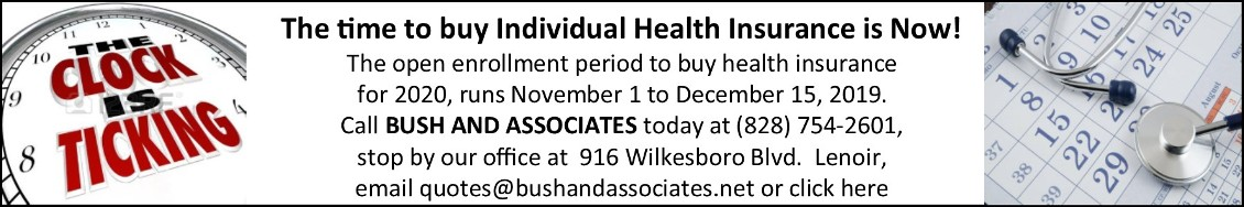 Bush Associates Web Banner Ad 11-01-2019