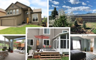 Sold! Handsome Chatfield Bluffs with Mountain Views