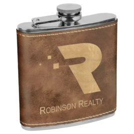 Stainless Steel Flask  – 6 oz.
