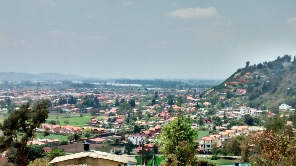 Suburbanización al sur del casco urbano