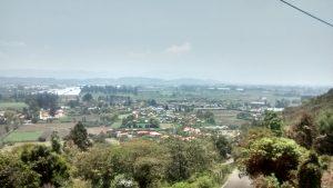 Vista desde el barrio El Pesebre