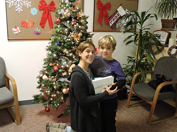 Angie & Tyler Gift of Technology 2015