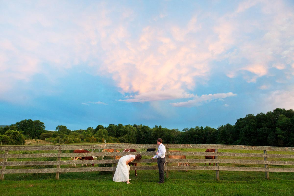 wedding at hancock shaker village
