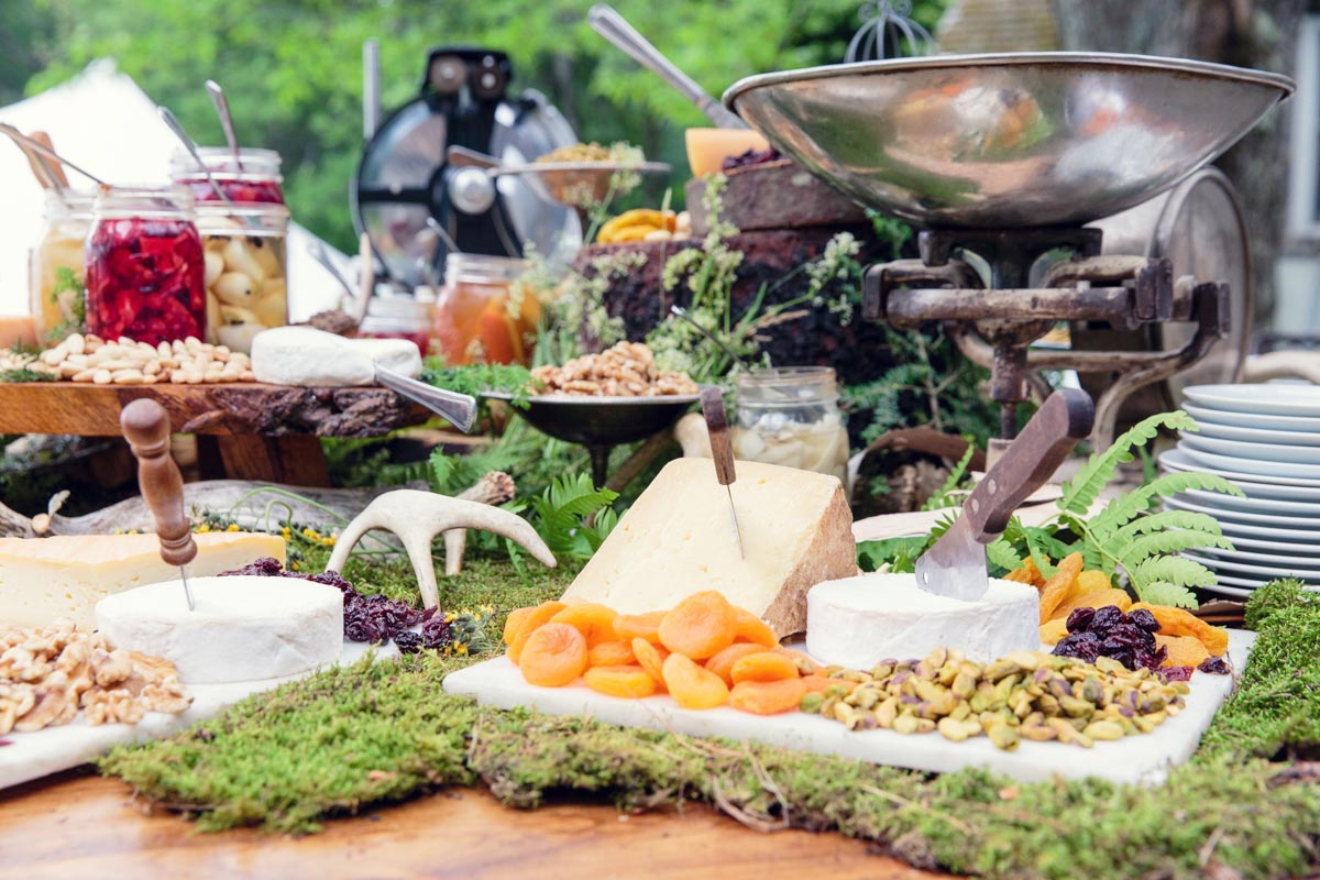 heirloom fire catering in the berkshires