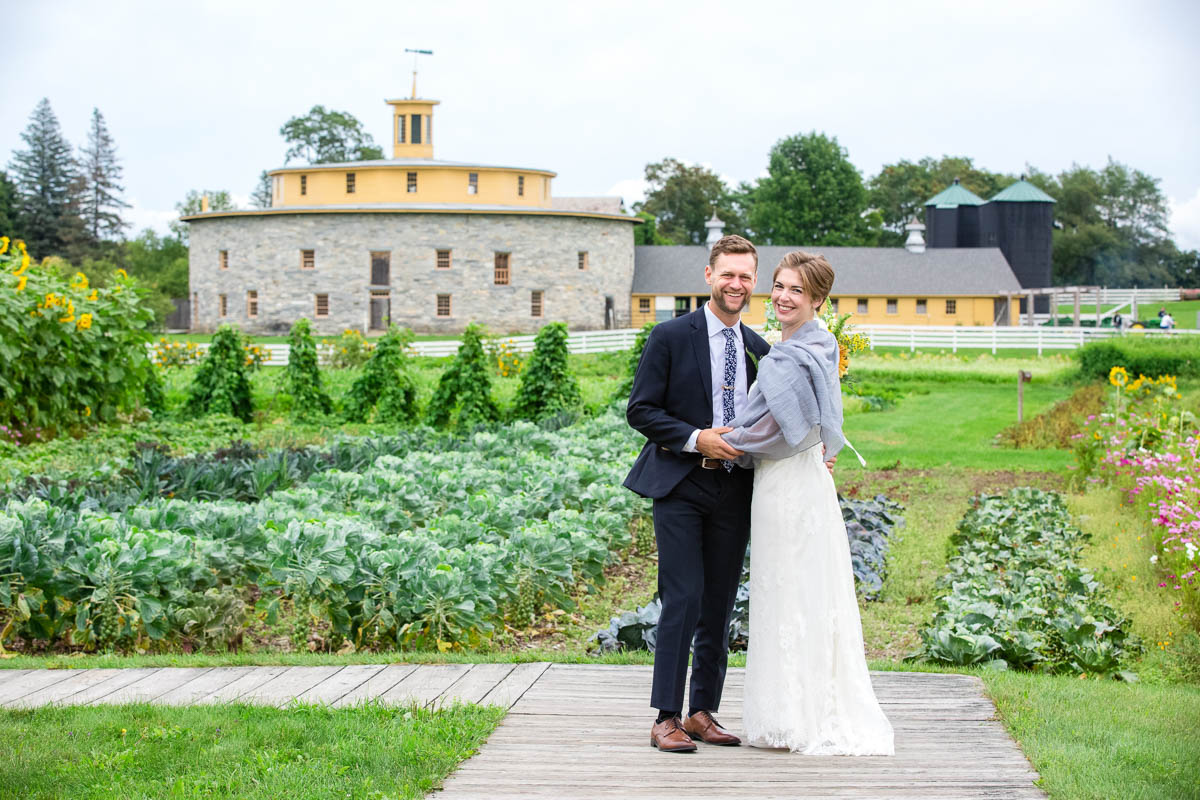 hancock shaker village wedding