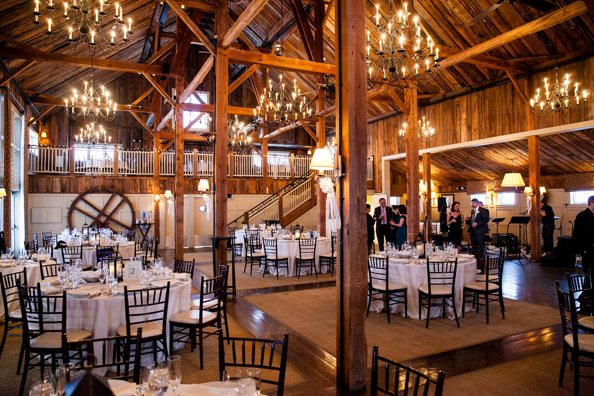 the barn at gibbet hill wedding
