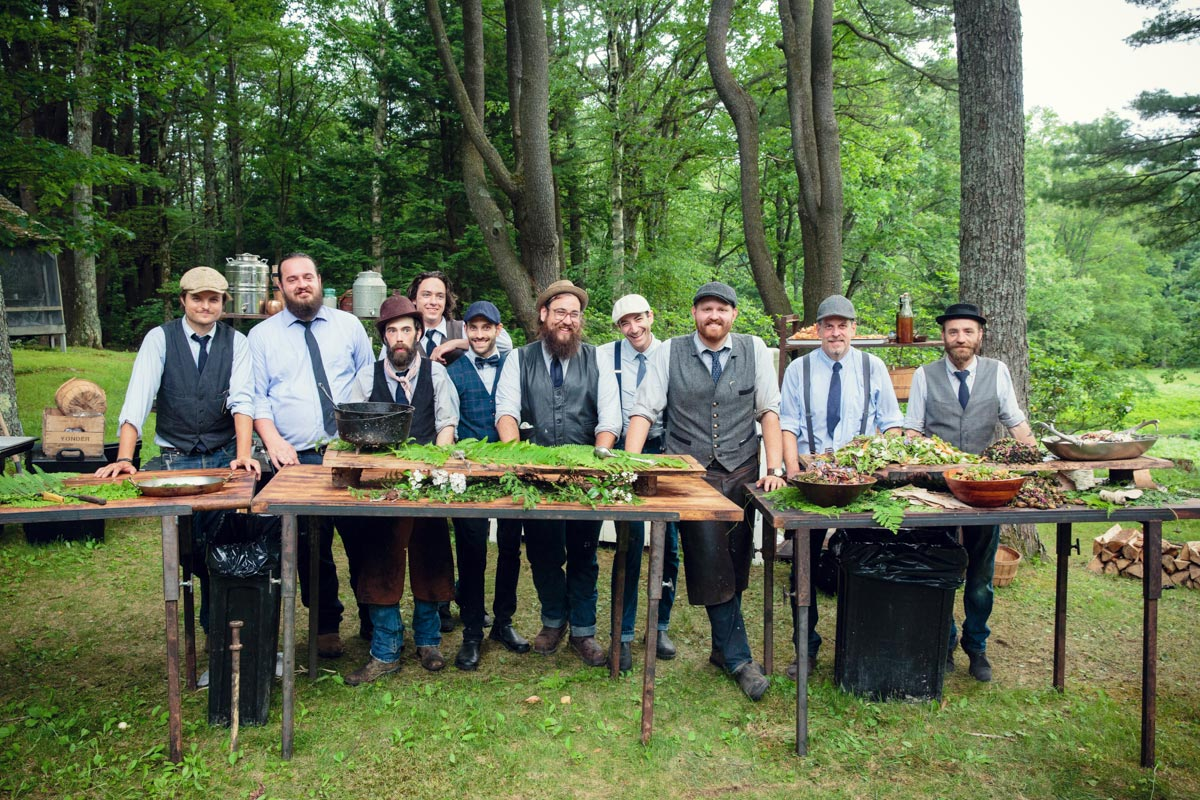 heirloom fire catering berkshires