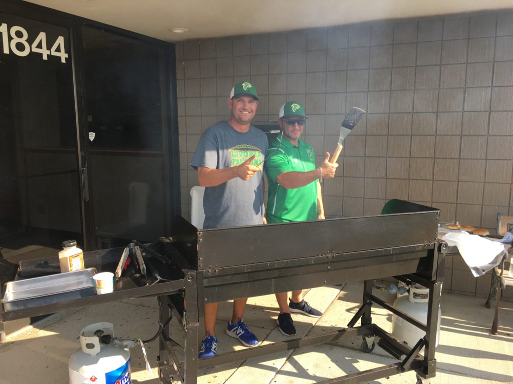 Falcon Coaches Cooking