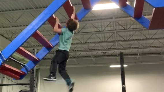 Youth Competitive Ninja Warrior Class