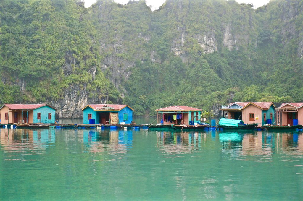Halong Bay, Vietnam - The Floating Village and Pearl Farm