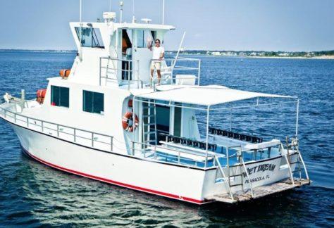 scuba shack wet dream charters