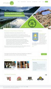 Green Nature Marketing WordPress Development