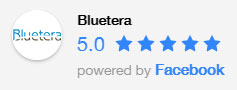 Bluetera Facebook Rating