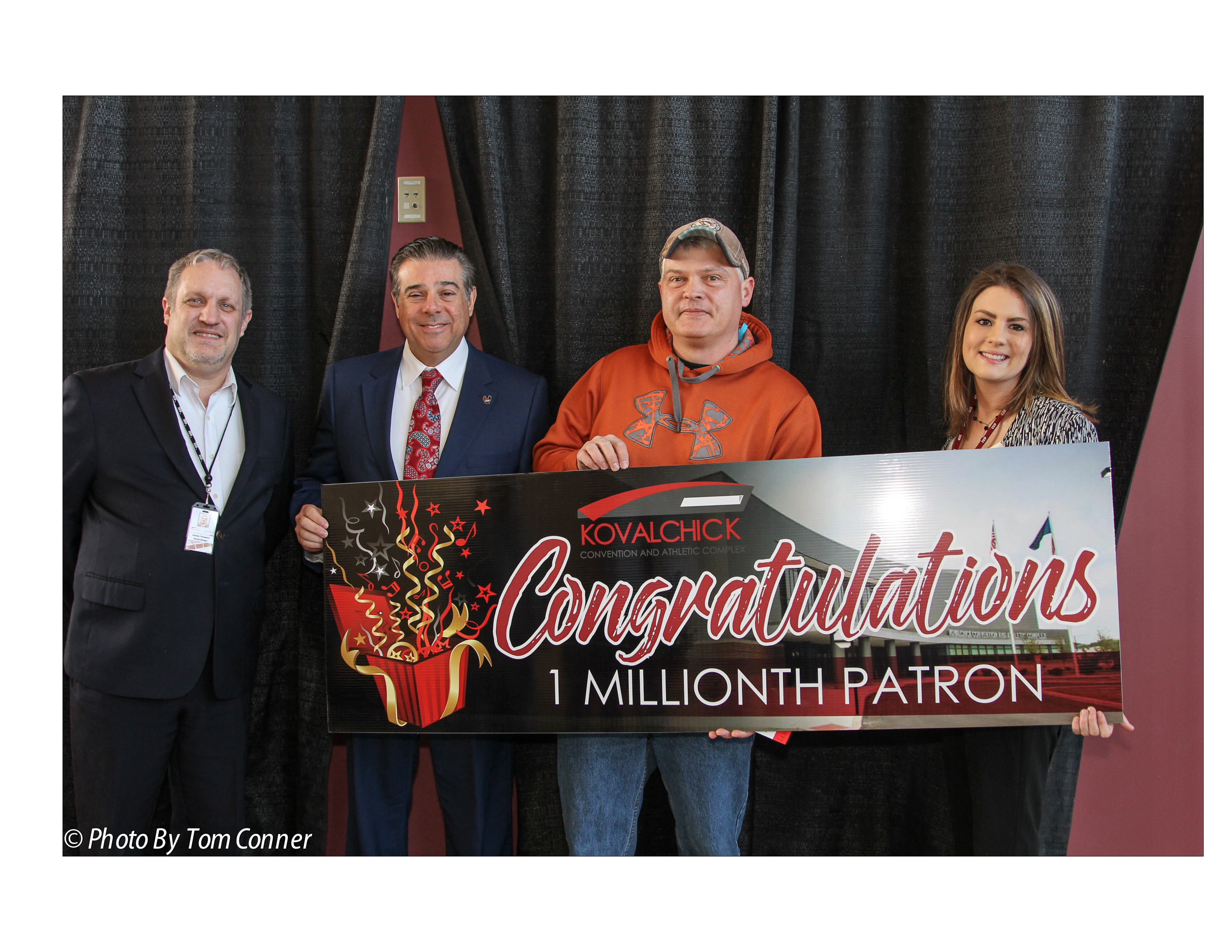 The Kovalchick Complex Welcomes 1 Millionth Patron